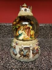 Mary, Joseph and Baby Jesus Snowglobe