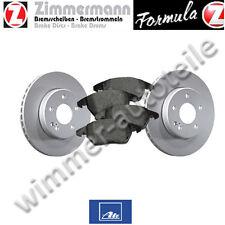 ZIMMERMANN Bremsscheiben zweiteilig + ATE Bremsbeläge vorne BMW M5 E39  345x32mm