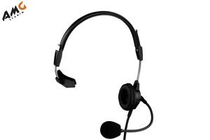 Telex PH-88 - Lightweight Single Ear Sided Intercom Headset PH88 Black