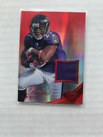 2012 Ray Rice Certified Mirror Red Materials #73 Jersey 033/199