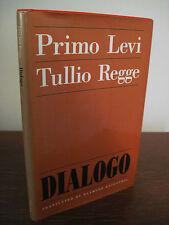 1st/1st Printing DIALOGO Primo Levi & Tullio Regge PRINCETON Rare Classic