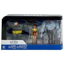 DC COMICS BATMAN ADVENTURES MUTANT 3PK BATMAN ROBIN LEADER ACTION FIGURE SET