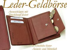 Reise- Lederbörse Herrenbörse Geld-Börse/Beutel Leder/2