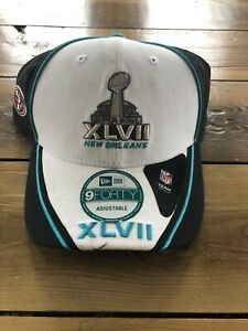 SUPER BOWL XLVII 49ers NEW ERA 9FORTY CAP HAT  NEW One Size