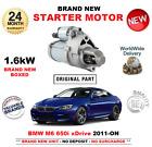 PARA BMW M6 650 i xdDrive MOTOR DE ARRANQUE 2011-> DESCAPOTABLE COUPE UNIDAD