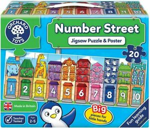 Orchard Toys Jigsaw Puzzle - Number Street 20pc 31N