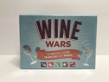 NEW WINE WARS Trivia Game For Wine Geeks and Wannabes. Sealed box.