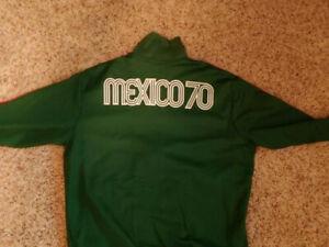 Adidas Mens XL Mexico National Team Jacket World Cup 1970 Replica