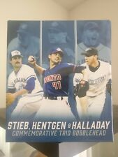 STIEB HENTGEN HALLADAY 2016 Toronto Blue Jays Bobblehead Limited Edition SGA