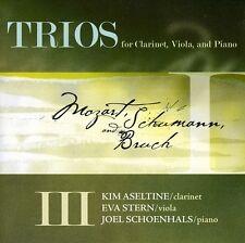 Joel Schoenhals - Trios for Clarinet Viola & Piano [New CD]