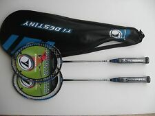 Twin Pack Special Offer! - Pro Kennex Destiny 727 Badminton Racket -  Graphite