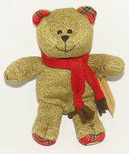 STARBUCKS - BEARISTA - HOLIDAY SOCK Teddy BEAR - 88th Ed 2009 - NEW w/ TAGS!