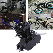 80cc Bike Bicycle Motorized 2 Stroke Cycle Black Motor Petrol Gas Engine Kit HM