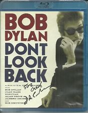 Bob Dylan DONT LOOK BACK Blu-ray 2 DVD Signed By D.A. Pennebaker to Greil Marcus