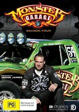 Monster Garage : Season 4 (DVD, 2011, 5-Disc Set) - Region 4