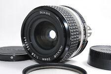 *Near Mint* Nikon Ais Ai-s Nikkor 24mm f2.8 MF Lens w/filter from Japan #238