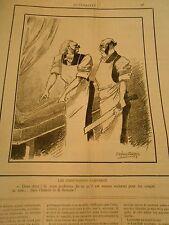 Caricature 1891 - Les Chirurgiens s'amusent Lui couper la tête pour la Science