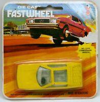 Vintage Yatming Fast Wheel #1004 Lamborghini Marzal Yellow MOC 1/64 Scale