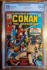 CONAN THE BARBARIAN #2  *BEAST MEN* *ROY THOMAS/BARRY SMITH* 7.5 VF- Marvel 1970