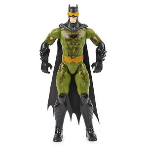 DC Batman Camo Suit 12-Inch Action Figure 1st Edition The Caped Crusader