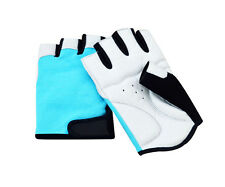 Cycling Leather & Forway Padded Bicycle Sport Gel Half Finger Gloves