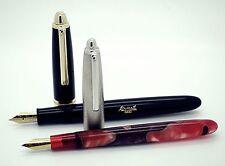 Airmail 70A MD Fountain Pen + Airmail 69G Black Eyedropper Fountain Pen