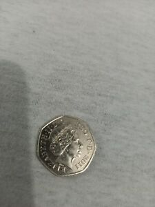 50p Coin 2011 London Olympics Cyclist Cycling - Collectable Coin