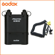 Godox PB960 Flash Power Battery Pack 4500mAh Black +Cable Cx For Canon Speedlite