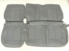 Leather Seats Upholstery Covers Fits Ford F150 Crew XLT 2013-2014 REAR only