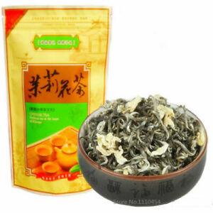 Premium Jasmine Tea Organic Loose Leaf Green Fresh tea fragance Hua tea 50g