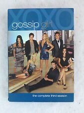 GOSSIP GIRL THE COMPLETE THIRD SEASON 5 DVDS Warner Bros. 2010