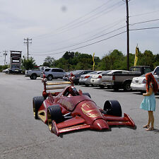 IRON MAN Mark V #42 The Armored Avenger &  RED VORTEX Mark VI Grand Prix car