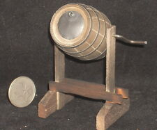 Dollhouse Miniature Old West Weathered Barrel Churn 1:12 Mexican Import #WO1953