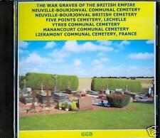 WAR GRAVES OF NEUVILLE BOURJONVAL + OTHERS CD