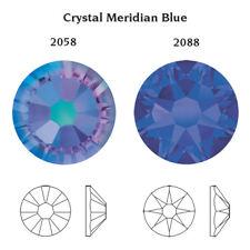 Swarovski X 100 Ss20 Meridian Blue Glue on Crystals Rhinestones Flatbacks Dance