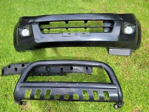 Isuzu d max front bumper bar and nudge bar