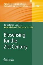 Advances in Biochemical Engineering/Biotechnology: Biosensing for the 21st...