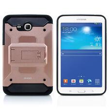 "Samsung Galaxy Tab E Lite 7.0"" T113 Shockproof Case w/ Glass Screen Protector RG"