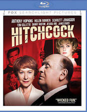 Hitchcock, Blu-ray Disc, 2016, Anthony Hopkins/Jessica Biel/Scarlett Johansson