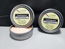 *LEMONGRASS* Flavored Culinary ARTISAN Finishing Salt- Essential Oil Enhanced