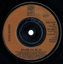 "STAR SOUND - 7"" - Stars On 45 (2) Abba / Stars Get Ready.  UK  CBS"