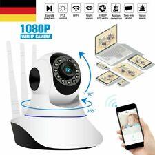 1080P WLAN IP Kamera Überwachungskamera Nachtsicht Babyfone Baby Monitor Webcam