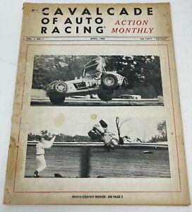 Cavalcade of Auto Racing April 1968 Vol. 1 No. 1