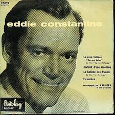 EDDIE CONSTANTINE EP FRANCE LA ROSE TATOUEE