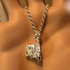 new sterling silver edinburgh castle pendant & chain