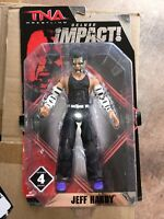 TNA WRESTLING JEFF HARDY 6 inch action figure Deluxe Impact New MIP