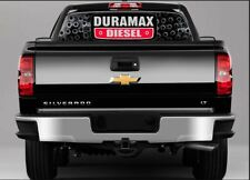 CHEVY Duramax Rear Window Perf Tint Graphic Decal Wrap Truck SUV Tailgate