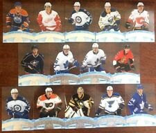 17/18 UD Tim Hortons **CLEAR CUT PHENOMS** Complete Set CCP1-14 McDavid,Matthews