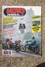 MOTO JOURNAL N°787 KAWASAKI 650 KLR 1000 GTR HONDA 600 V TRANSALP BMW K100 LT 87