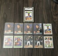 Big Manny Ramirez Rookie Card Collection With Graded Topps Gold Winner Rookie